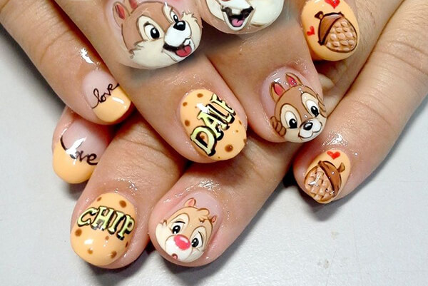 Chip and Dale nail
